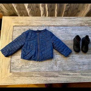 GAP Toddler Bundle Jacket & Boots. Both Like New!